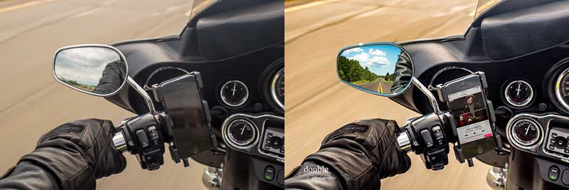 before and after of motorcycle image