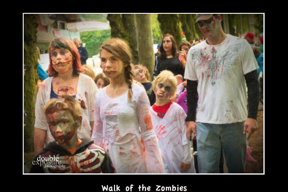 Walk of the Zombies in Fort Langley