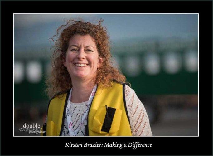 Kirsten Brazier, founder of Girls Fly Too
