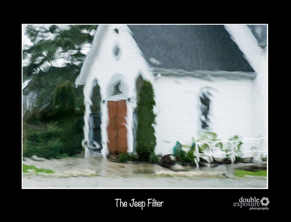 creative photography restored by rain