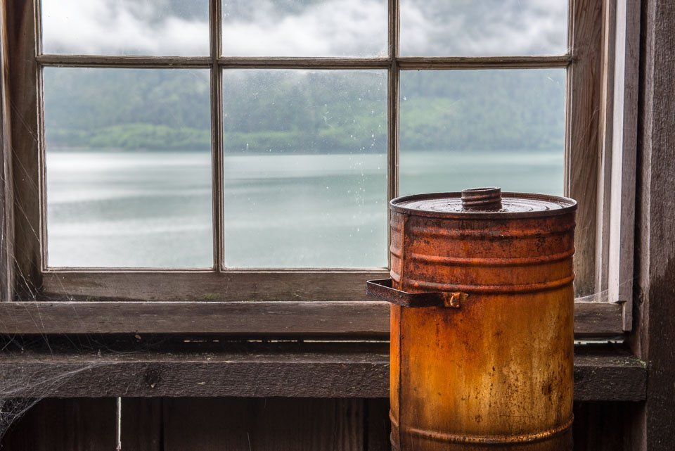 A rusted can waits patiently. Dennis Ducklow Photography