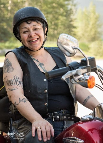 Aboriginal motorcyclist and feminist