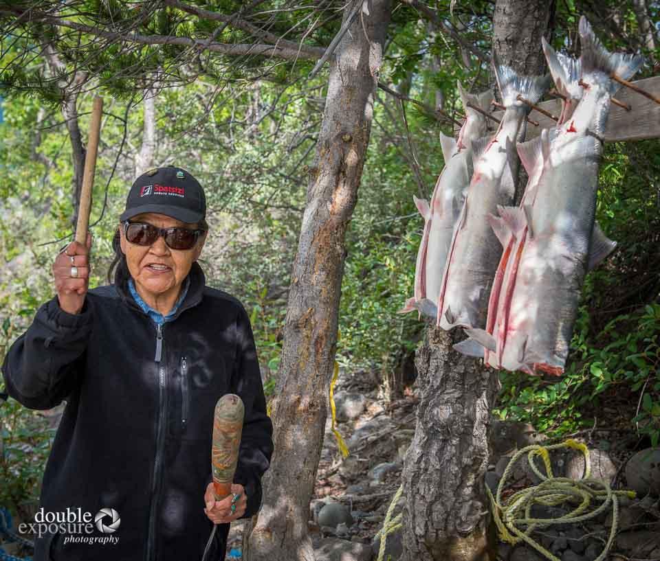 Aboriginal woman, proud of her Tahlten heritage