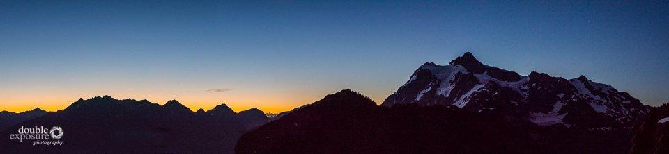 Dawn on Mt. Shuksan