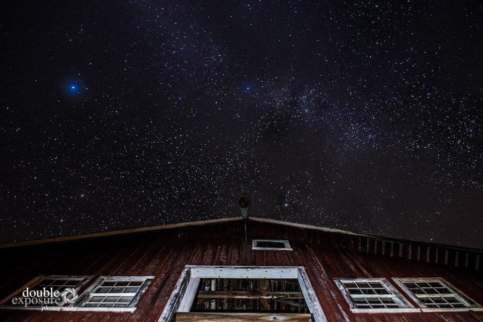 stars in the Bella Coola sky