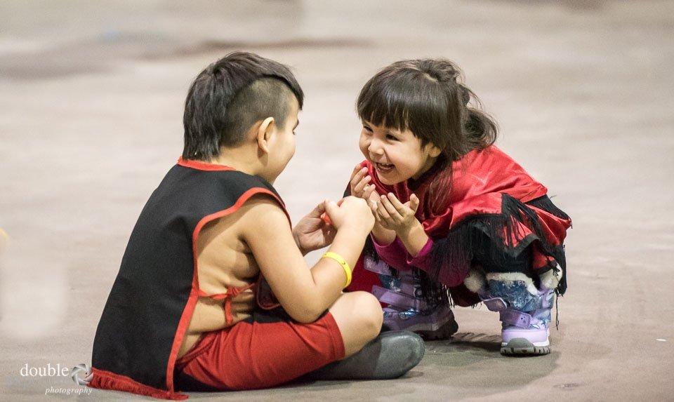 Children play at the Hobiyee.