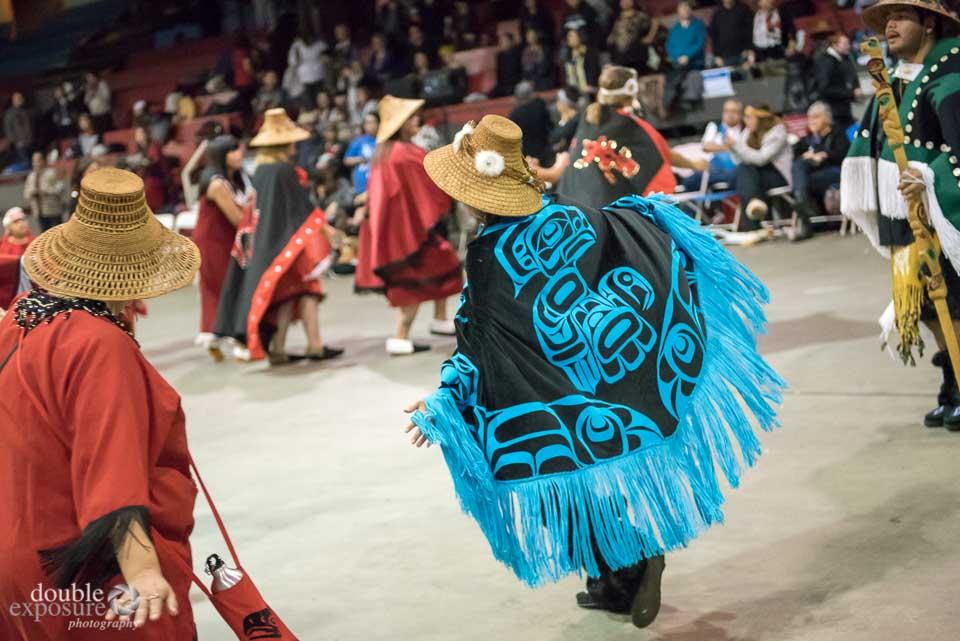 Beautiful regalia worn by the dancers.