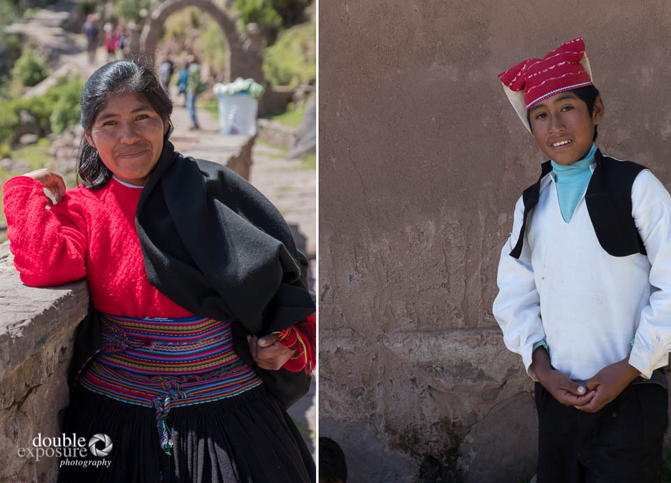 Clothing on Taquile Island is strictly controlled.