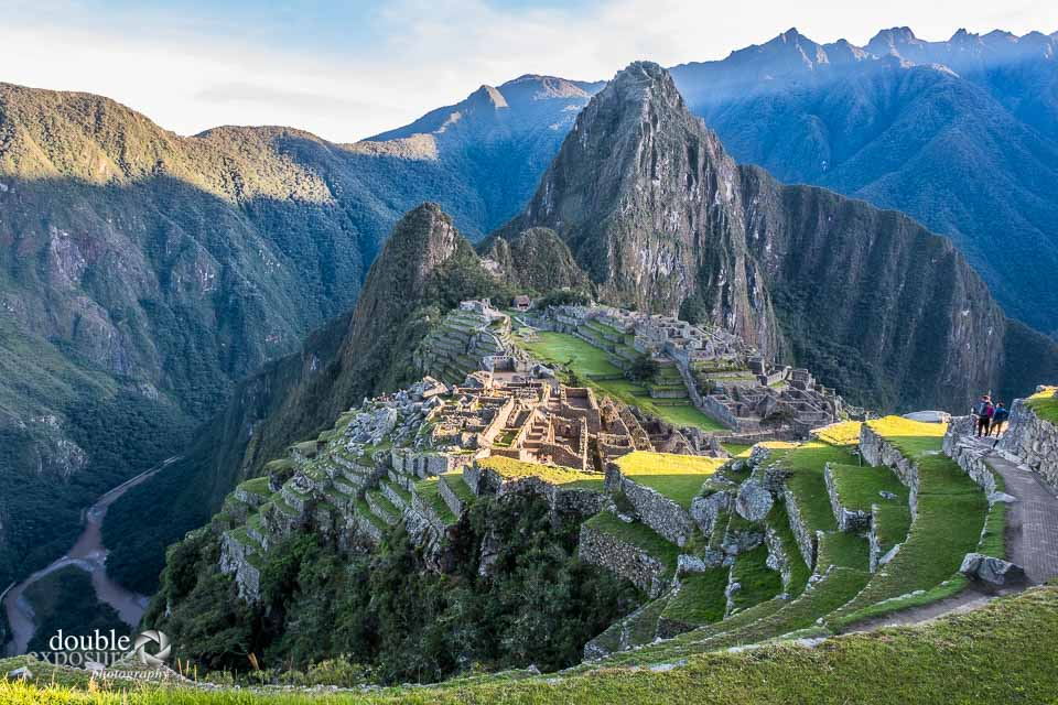Early morning light on Machu Picchu.