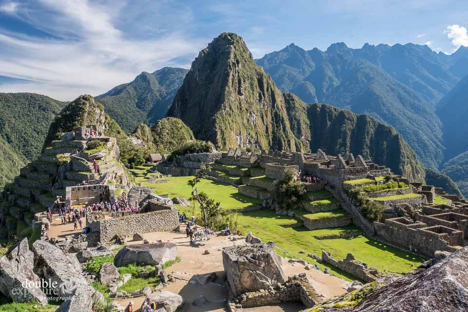 Early morning light on Machu Picchu.
