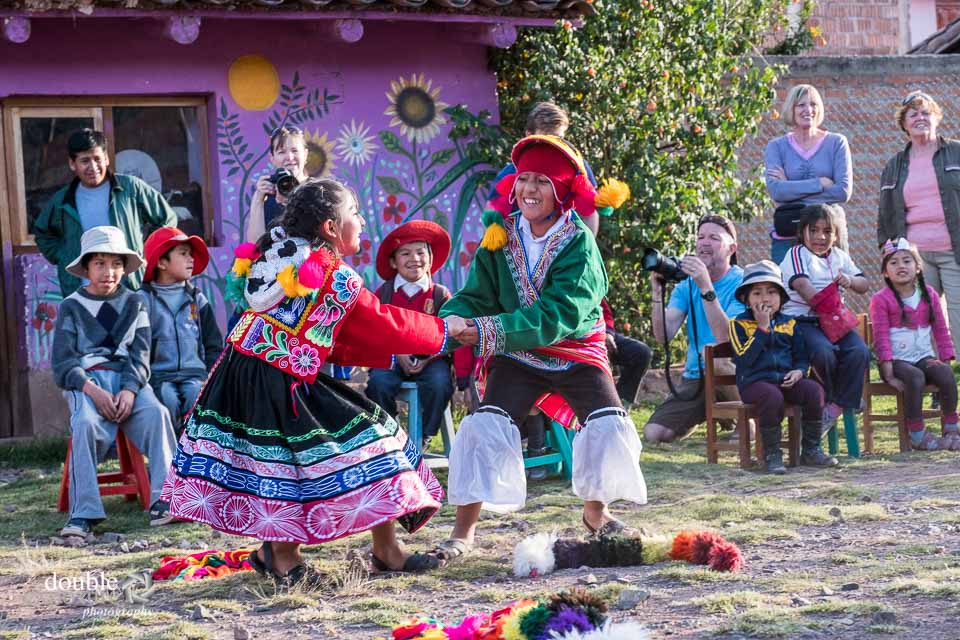 Traditional Peruvian dancing.