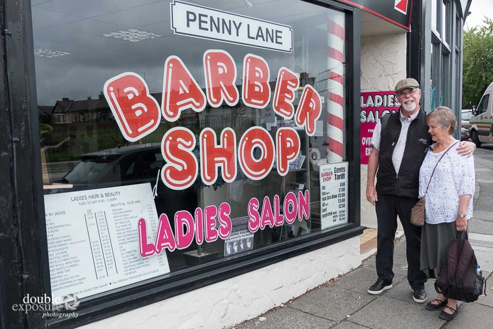 The babershop from Penny Lane, by the Beatles.