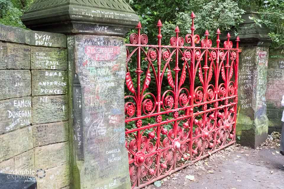The gates to Strawberry Fields, Liverpool