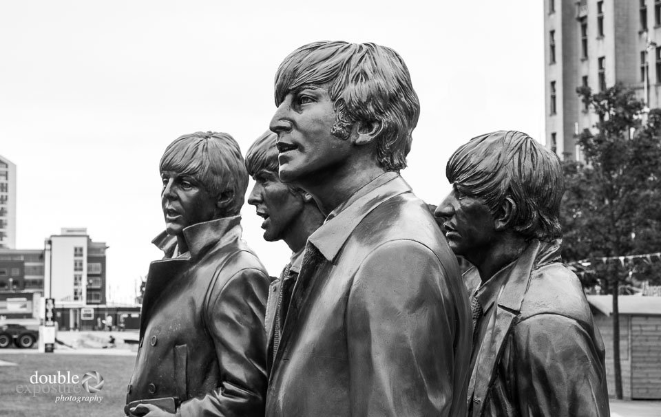 Beatles Statue in Liverpool