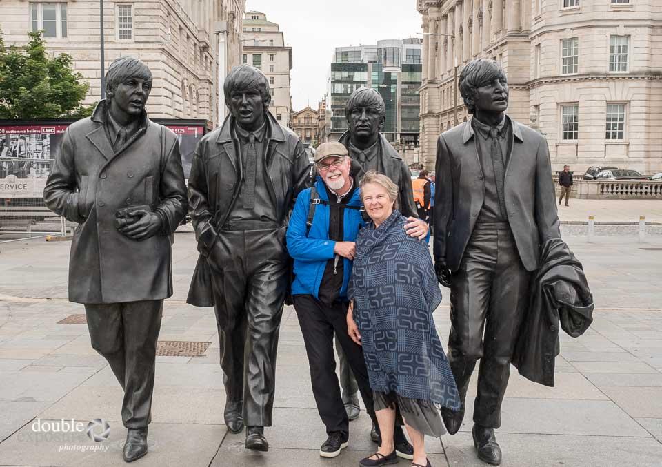 statue of Beatles