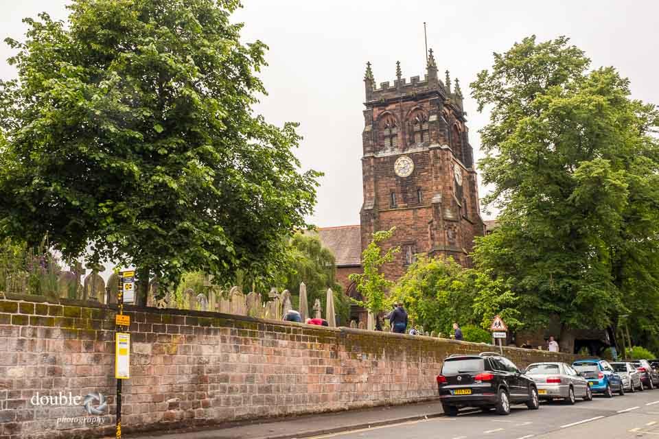 Church where a wedding has been