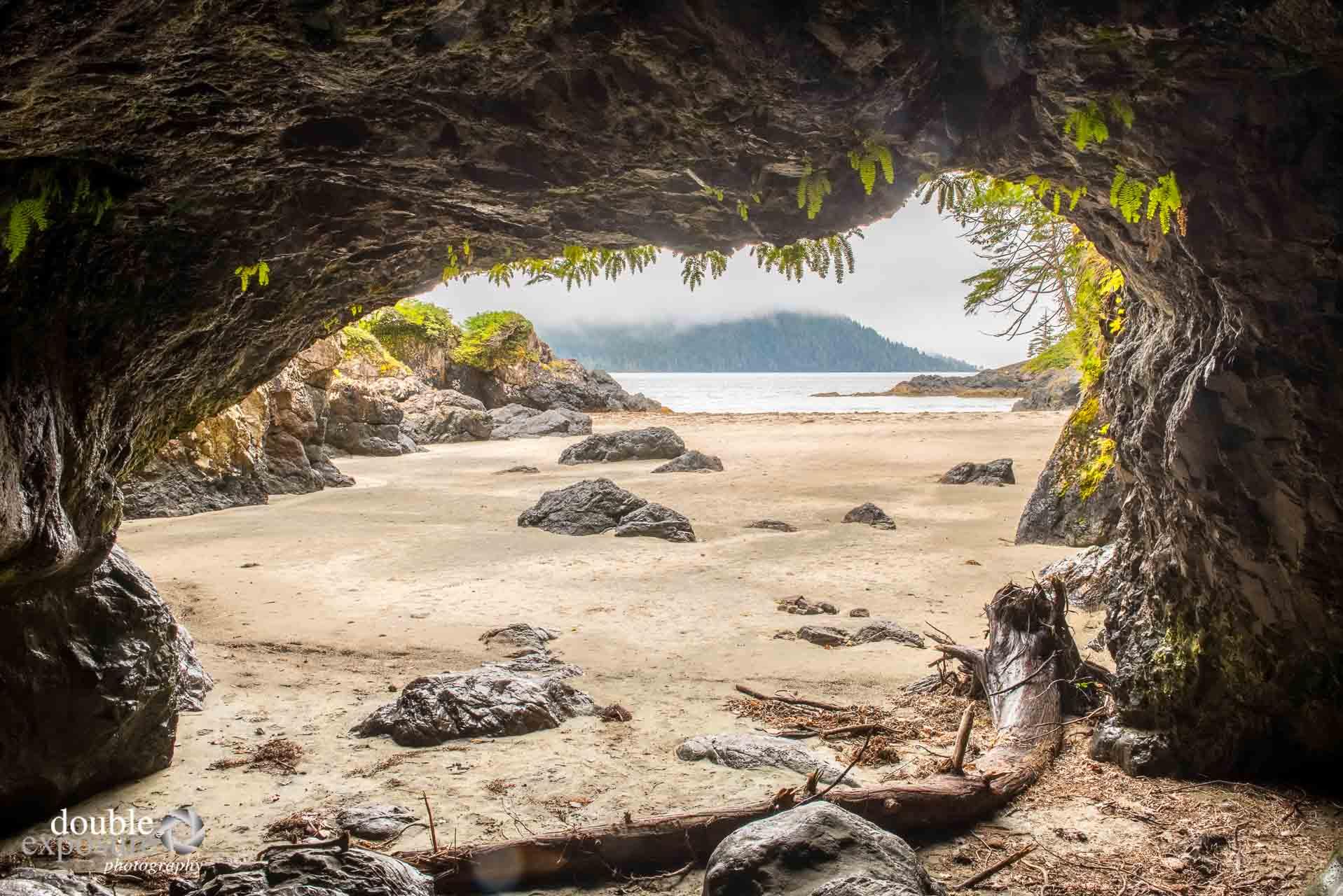 caves on the beach