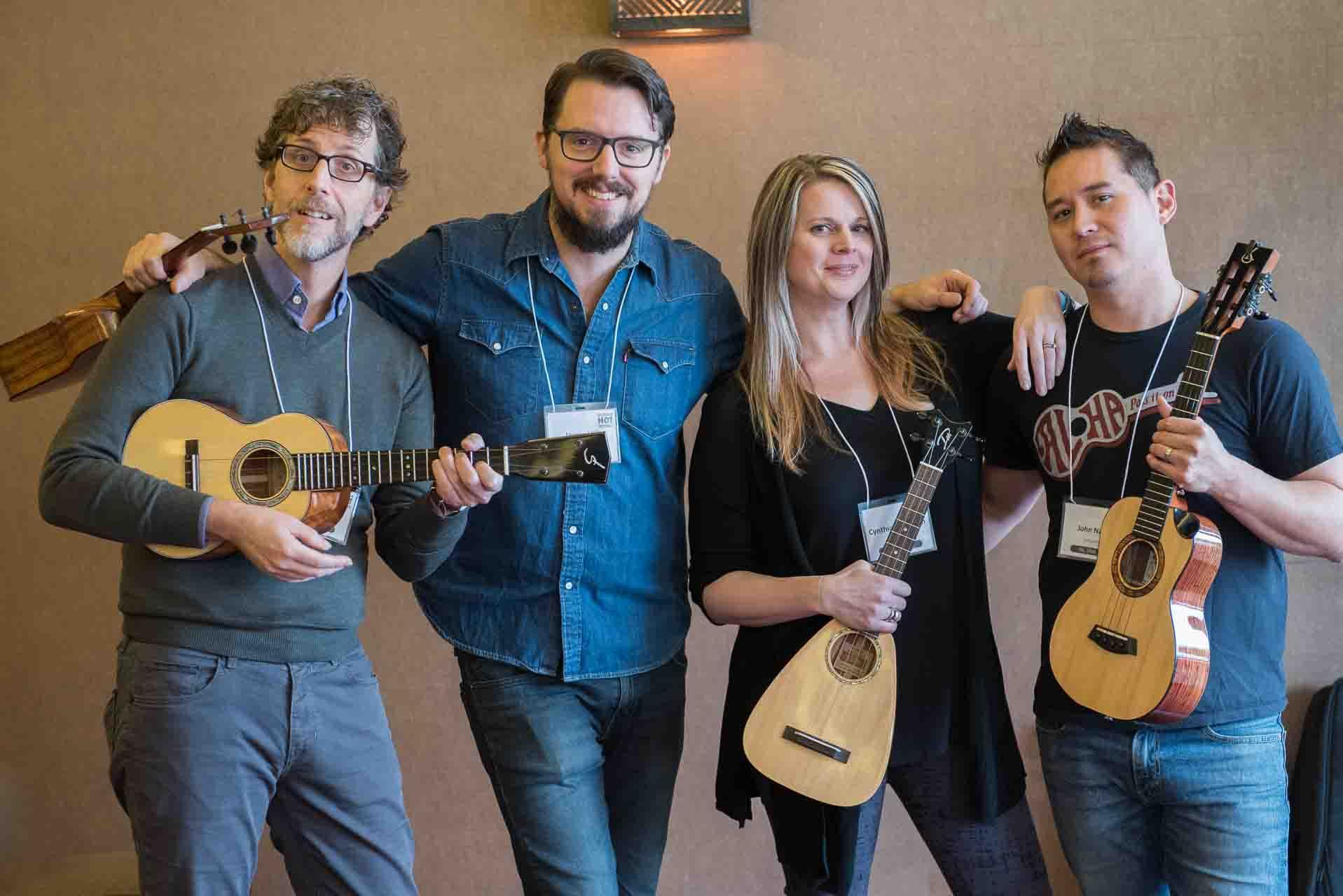 ukulele workshop instructors