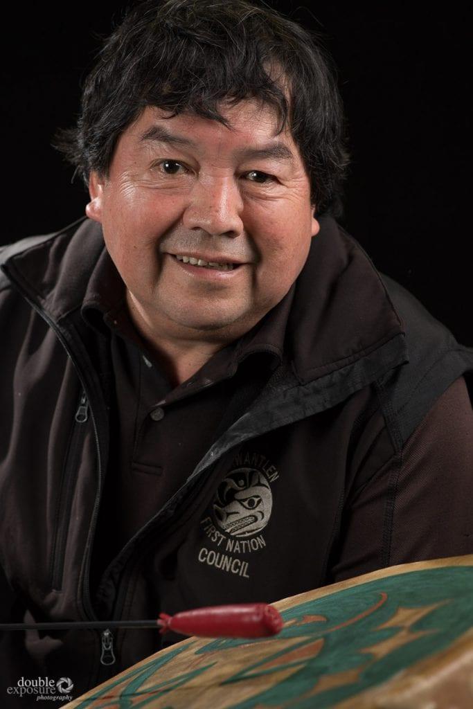 First Nation drummer