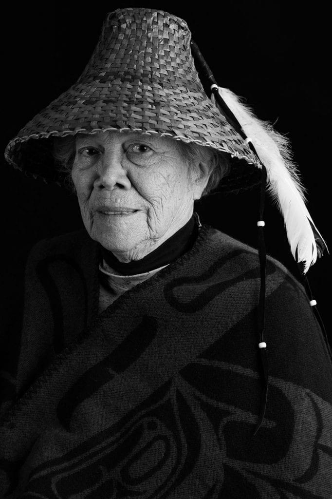 elder statesman of the Kwantlen First Nation
