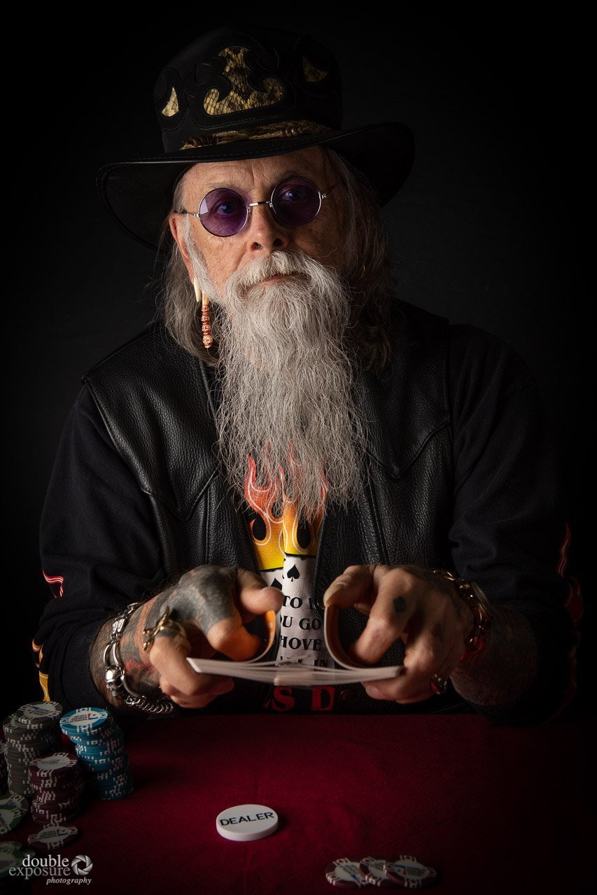poker player deals
