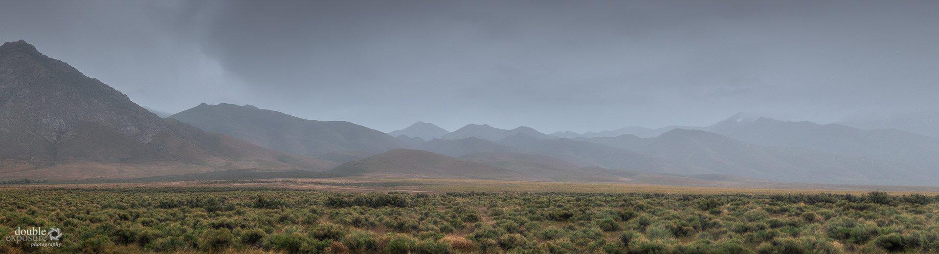 rain on the desert.