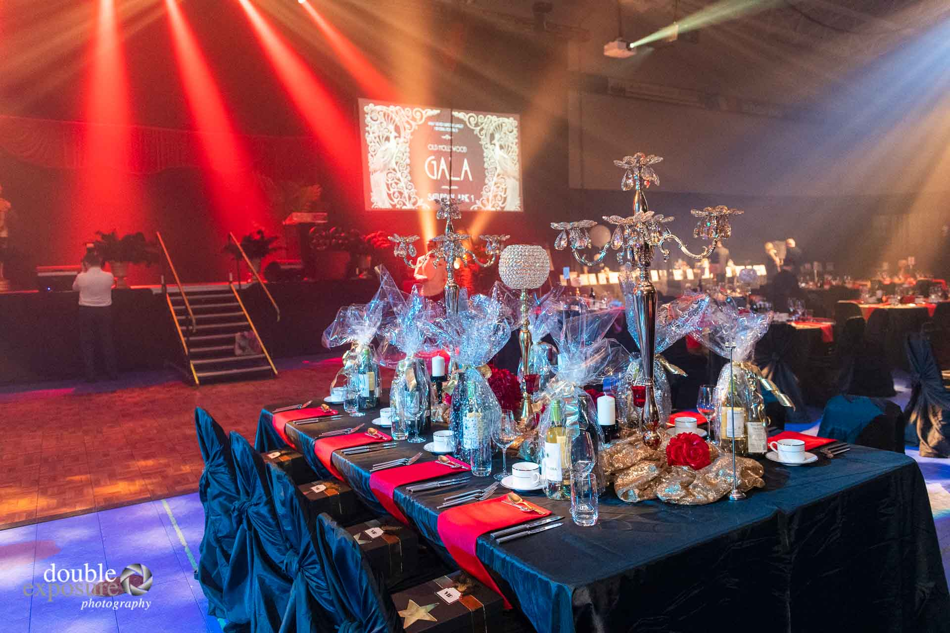The grand table at the  LMHF Gala 2019