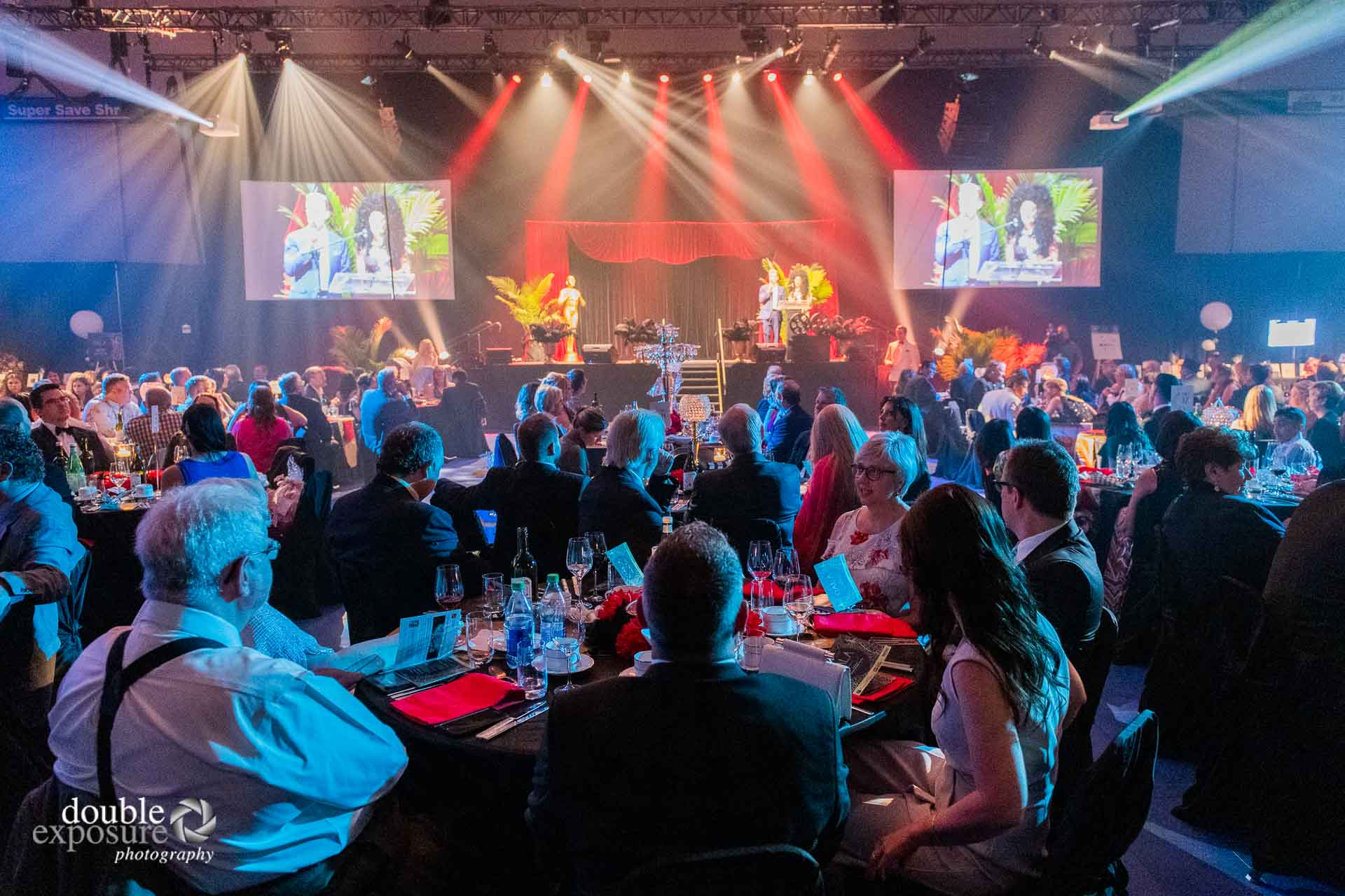The tables were full at the  LMHF Gala 2019