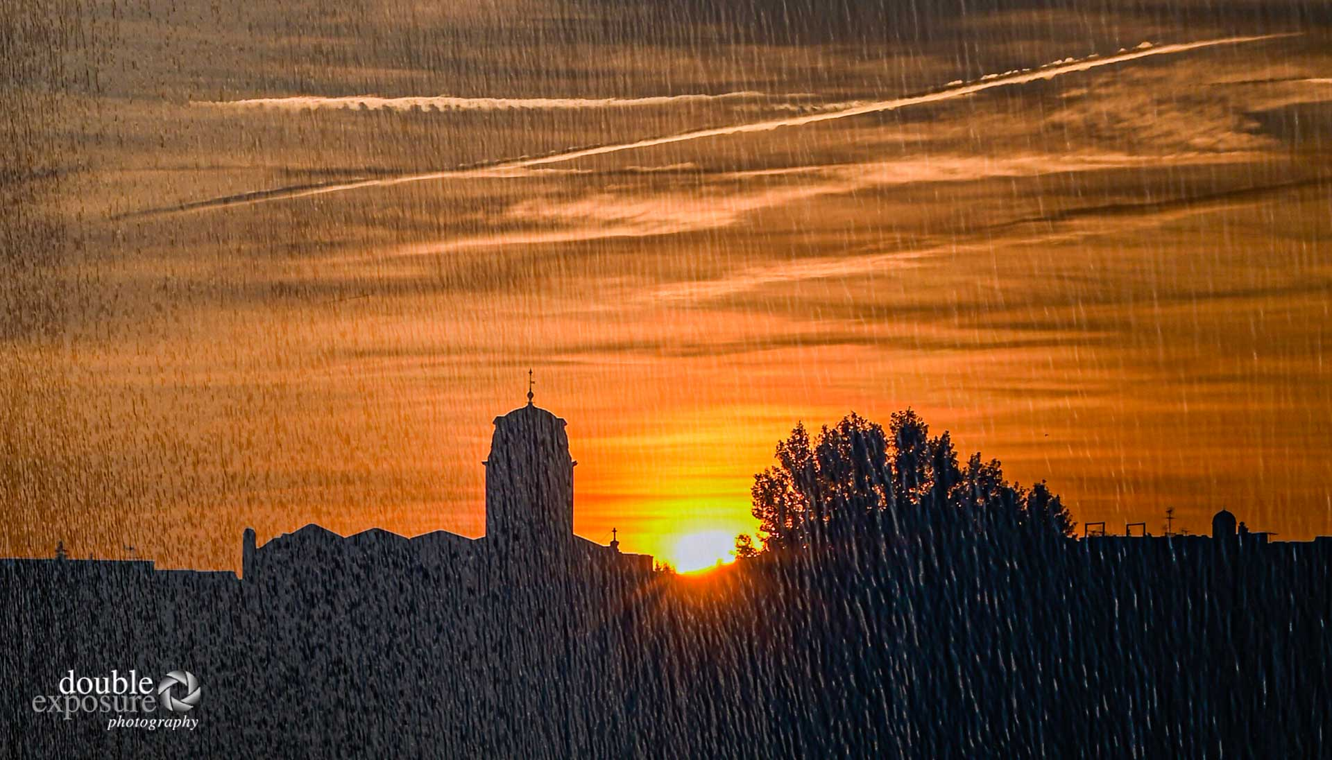 sunrise in Arles