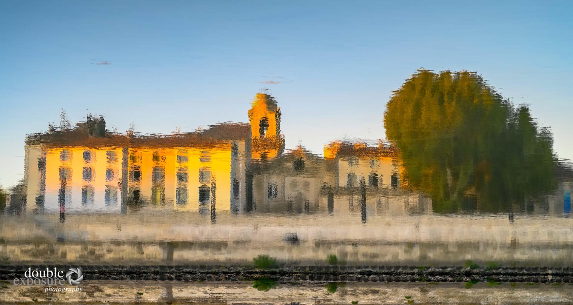 Sunrise on the Rhone in Arles