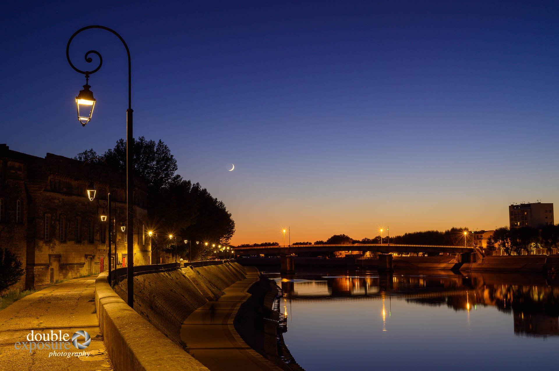 The Rhone River in Arles France