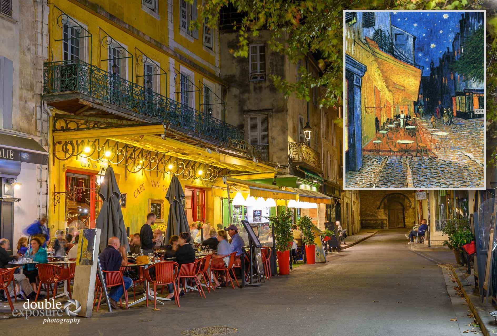 Van Gogh's Cafe Terrace at Night.