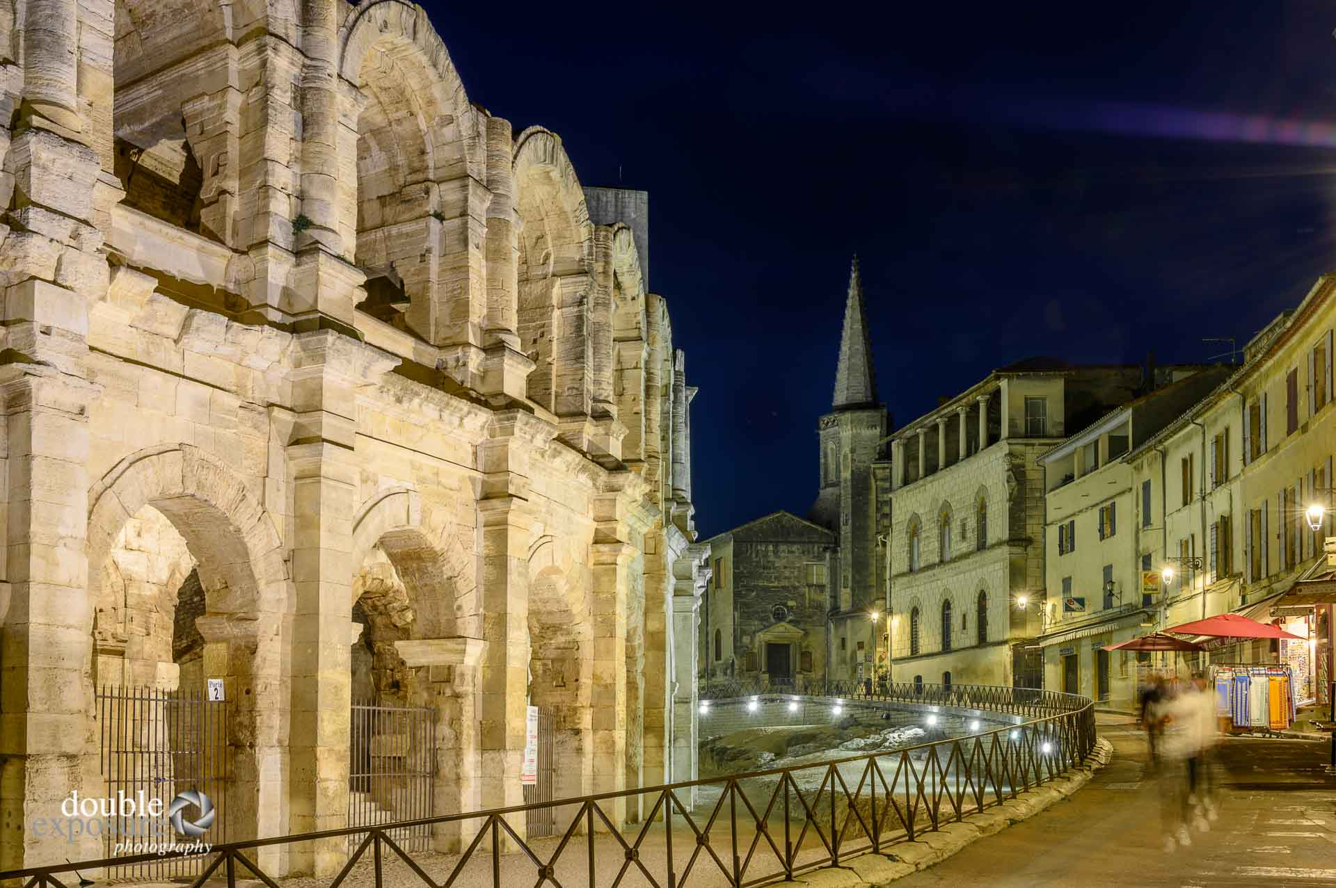 Arles amphitheatre is still in use today